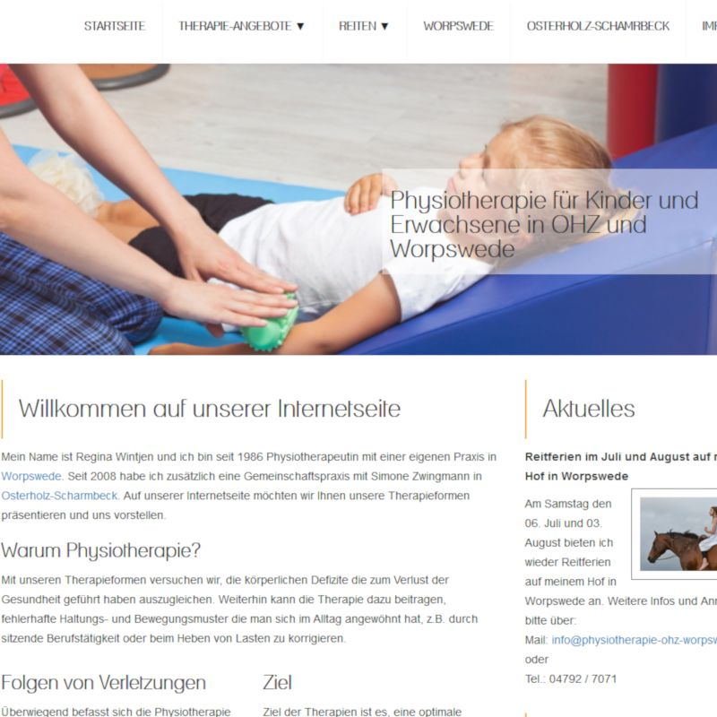 Physiotherapie in Worpswede